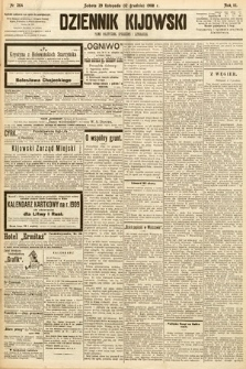 Dziennik Kijowski : pismo społeczne, polityczne i literackie. 1908, nr264