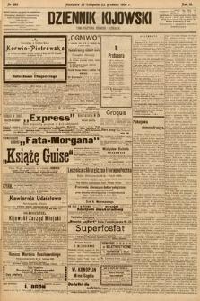 Dziennik Kijowski : pismo społeczne, polityczne i literackie. 1908, nr265