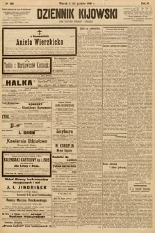 Dziennik Kijowski : pismo społeczne, polityczne i literackie. 1908, nr266