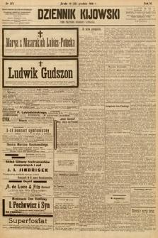 Dziennik Kijowski : pismo społeczne, polityczne i literackie. 1908, nr272