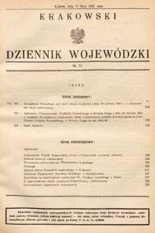 Krakowski Dziennik Wojewódzki. 1931, nr15
