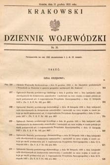 Krakowski Dziennik Wojewódzki. 1931, nr26