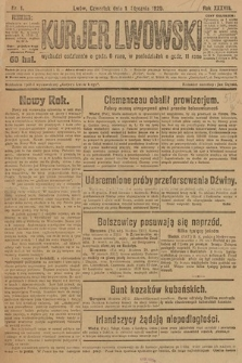 Kurjer Lwowski. 1920, nr1