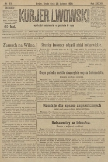 Kurjer Lwowski. 1920, nr53