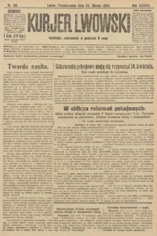 Kurjer Lwowski. 1920, nr82
