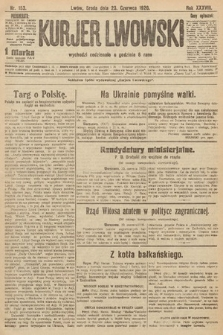 Kurjer Lwowski. 1920, nr153