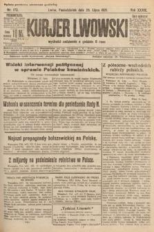 Kurjer Lwowski. 1921, nr173