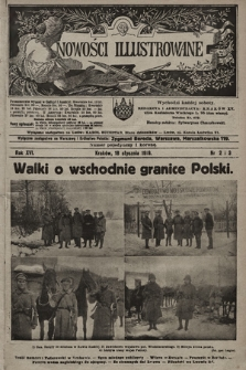 Nowości Illustrowane. 1919, nr2/3