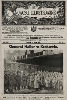 Nowości Illustrowane. 1919, nr20