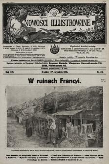 Nowości Illustrowane. 1919, nr39