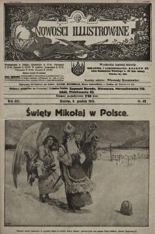 Nowości Illustrowane. 1919, nr49