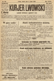 Kurjer Lwowski, 1920, nr162