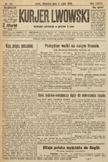 Kurjer Lwowski, 1920, nr163