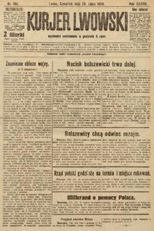Kurjer Lwowski, 1920, nr184