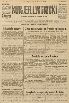 Kurjer Lwowski, 1920, nr191