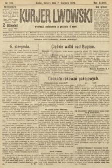 Kurjer Lwowski, 1920, nr192