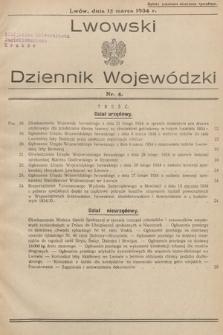 Lwowski Dziennik Wojewódzki. 1934, nr4