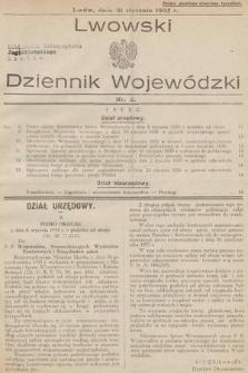 Lwowski Dziennik Wojewódzki. 1935, nr2