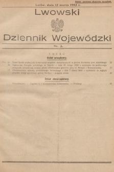 Lwowski Dziennik Wojewódzki. 1935, nr5