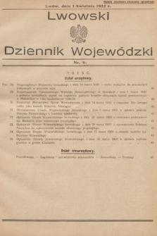 Lwowski Dziennik Wojewódzki. 1935, nr6