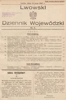 Lwowski Dziennik Wojewódzki. 1937, nr9
