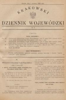 Krakowski Dziennik Wojewódzki. 1929, nr8