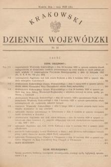 Krakowski Dziennik Wojewódzki. 1929, nr10