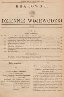 Krakowski Dziennik Wojewódzki. 1929, nr20
