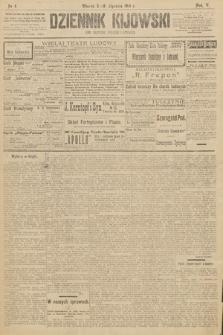 Dziennik Kijowski : pismo polityczne, społeczne iliterackie. 1910, nr4