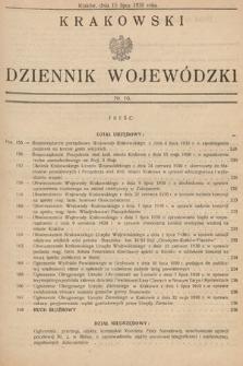 Krakowski Dziennik Wojewódzki. 1930, nr16