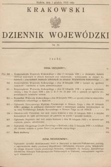 Krakowski Dziennik Wojewódzki. 1930, nr26
