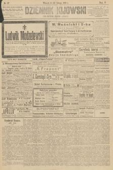 Dziennik Kijowski : pismo polityczne, społeczne iliterackie. 1910, nr37