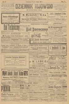 Dziennik Kijowski : pismo polityczne, społeczne iliterackie. 1910, nr42