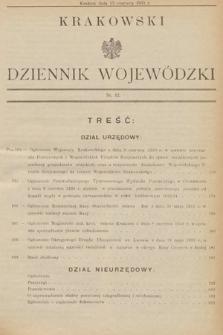 Krakowski Dziennik Wojewódzki. 1933, nr12