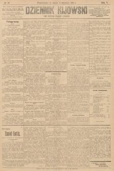Dziennik Kijowski : pismo polityczne, społeczne iliterackie. 1910, nr78