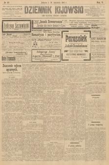 Dziennik Kijowski : pismo polityczne, społeczne iliterackie. 1910, nr89