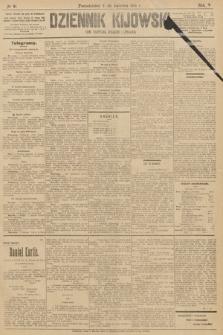 Dziennik Kijowski : pismo polityczne, społeczne iliterackie. 1910, nr91