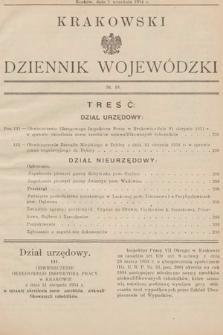 Krakowski Dziennik Wojewódzki. 1934, nr18