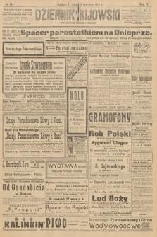 Dziennik Kijowski : pismo polityczne, społeczne iliterackie. 1910, nr134
