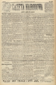 Gazeta Narodowa. 1907, nr23