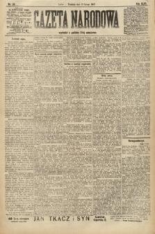 Gazeta Narodowa. 1907, nr34