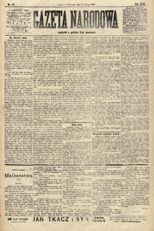 Gazeta Narodowa. 1907, nr37