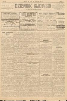Dziennik Kijowski : pismo polityczne, społeczne iliterackie. 1910, nr187