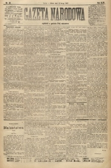 Gazeta Narodowa. 1907, nr39