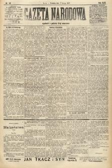 Gazeta Narodowa. 1907, nr40