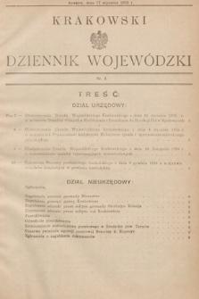 Krakowski Dziennik Wojewódzki. 1935, nr2