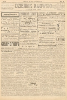 Dziennik Kijowski : pismo polityczne, społeczne iliterackie. 1910, nr192