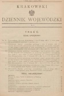 Krakowski Dziennik Wojewódzki. 1935, nr6