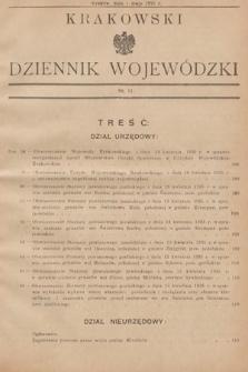 Krakowski Dziennik Wojewódzki. 1935, nr11