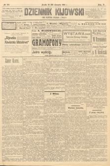 Dziennik Kijowski : pismo polityczne, społeczne iliterackie. 1910, nr215